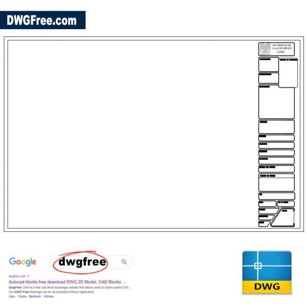 Letterhead DWG in AutoCAD File