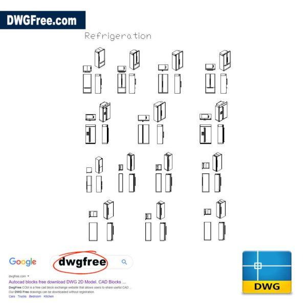 Refrigeration-cad-blocks-in-dwg