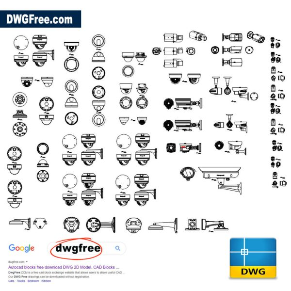 Security-Camera-CAD-DWG-file-free-download