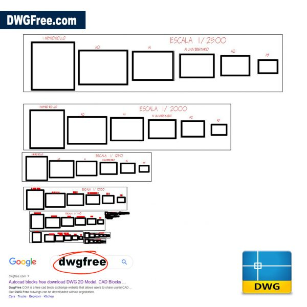 Signs and Templates DWG in CAD file