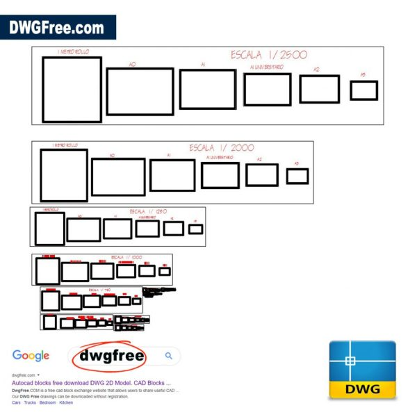 Signs-and-templates-DWG-in-AutoCAD